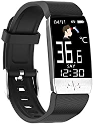 OPTA SB-212 Bluetooth ECG PPG Sensor, Body Temperature Monitoring & Heart Rate Sensor Fitness Band for All