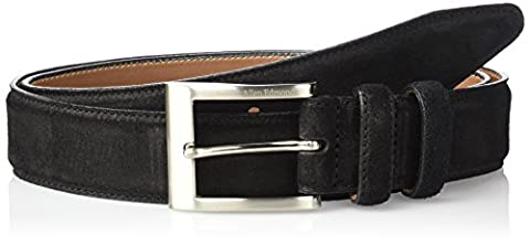 Allen Edmonds Men's Wide Basic Dress Belt - Black