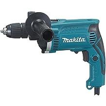 Makita HP1631K - Taladro Percutor 710W 1.9 Kg 3200 Rpm Portabrocas Auto + Maletin