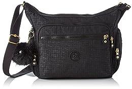 Acheter Kipling Gabbie, Sacs bandoulière femme, Noir (Black... en ligne