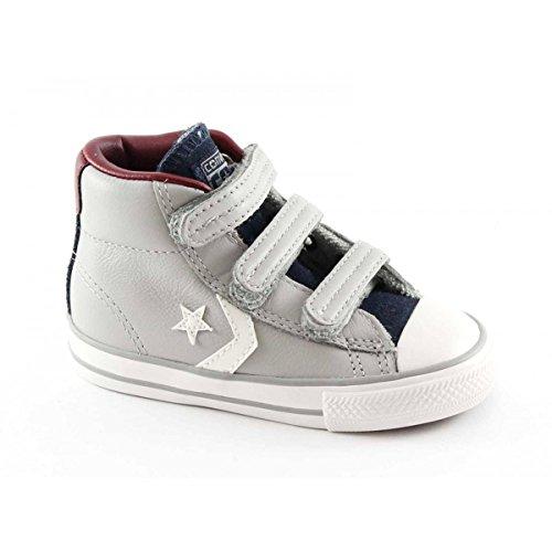 CONVERSE 755169C grauen Stern Pleyer ev baby shoes all star mid Tücken 26
