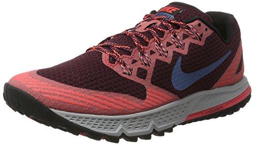 Nike Gore Tex (Nike Herren AIR Zoom Wildhorse 3 Traillaufschuhe Mehrfarbig (Kastaniennacht/Ember Glut Orange/Schwarz/Ozean Nebel Blau) 42 EU)