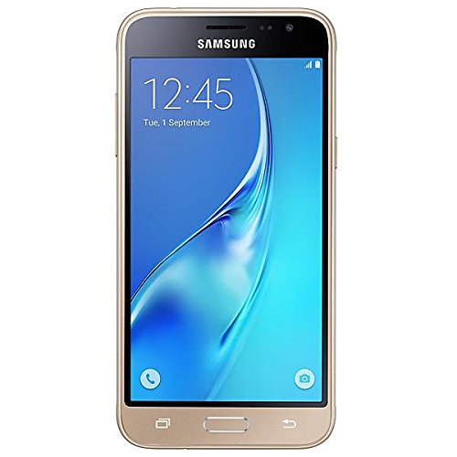 Samsung Galaxy J3Smartphone entsperrt 4g 11,4cm (: 5Zoll-8GB-einfach Micro-SIM-Android) Gold (4g Handys Samsung Entsperrt)