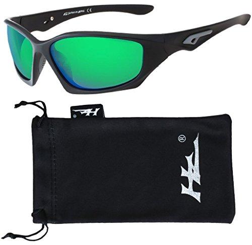 HZ Serie Pro - Gafas de Sol Polarizadas Premium de Hornz – Marco neg