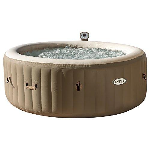 Intex 28404 -  Pure Spa Bubble Therapy con Pompa, Riscaldatore e Sistema Purificazione Acqua, 1.91x0.71cm