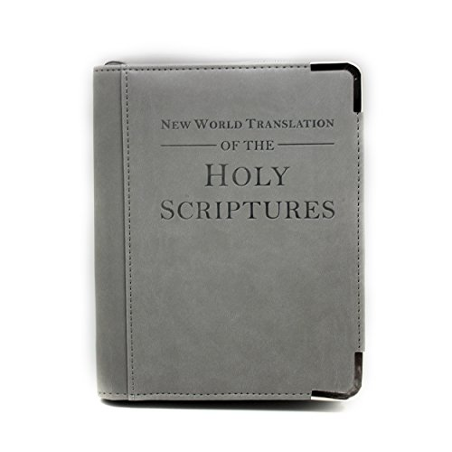 Bibelhülle, Boshiho Glatte PU Leder Bibelhülle Reißverschluss Großes perfektes Geschenk