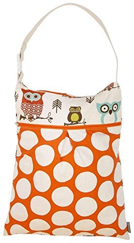 Preisvergleich Produktbild Logan + Lenora 'Daytripper Wet + Dry Tote' wet bag large (Earthy Owls)