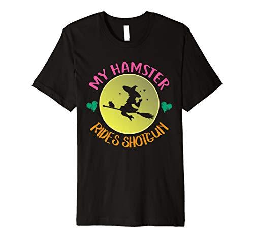 (My Hamster Rides Shotgun T-Shirt | Halloween-Kostüm Geschenk)
