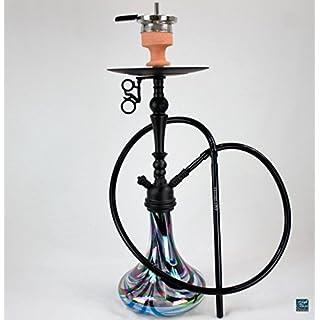AMY Deluxe Shisha Globe R AMY 057R mattschwarz-schwarz
