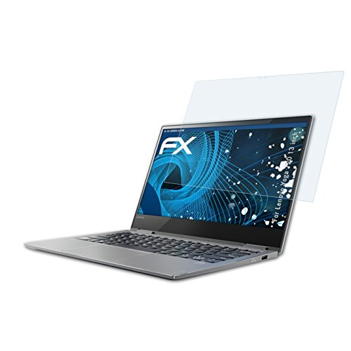 atFolix Schutzfolie kompatibel mit Lenovo Yoga 720 13 inch Panzerfolie, ultraklare & stoßdämpfende FX Folie (2X)