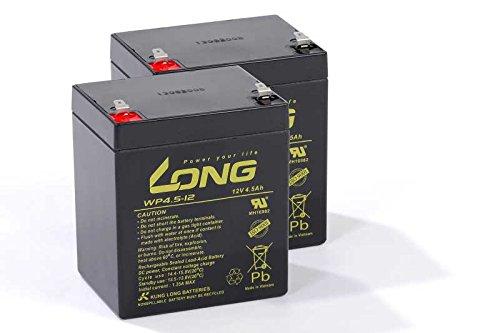 Preisvergleich Produktbild Treppensteigerakku kompatibel C141 2x 12V AGM Blei Vlies wartungsfrei Batterie