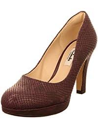 Clarks 261188465 - Zapatos de vestir para mujer, color Marrón, talla 36