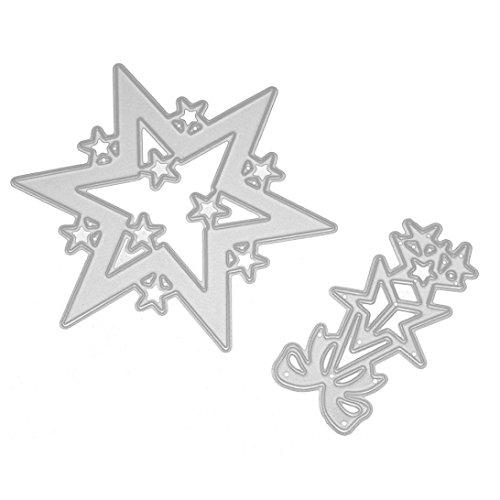 Gaddrt Frohe Weihnachten Kinder intellektuelle Entwicklung Durable Metal Cutting Dies Schablonen Scrapbooking Prägung Album DIY Papier Karte Kunst Handwerk (Puppe Papier Kostüm Diy)