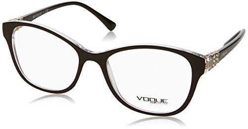 Vogue - VO 5169B, Rechteckig, Propionat, Damenbrillen, DARK BROWN(2561), 52/17/140