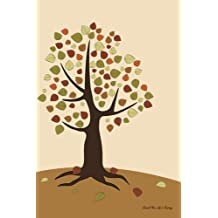 Journal Your Life's Journey: Autumn Tree Nature, Lined Journal, 6 x 9, 100 Pages