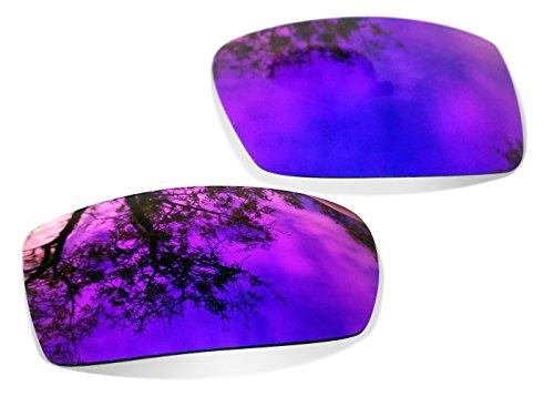 sunglasses restorer Kompatibel Ersatzgläser für Oakley Eyepatch 2 & 1 (Polarized Purple Mirror Gläser)