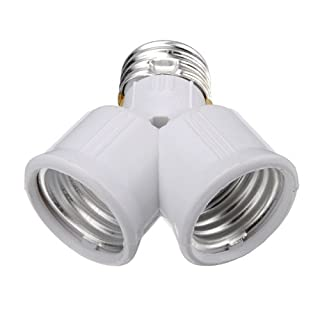 Autek 5X E27 auf E27 2 Y-Form Glühbirne Lampenfassung enlarger Vergrößerungsapparat Lampensockel Adapter