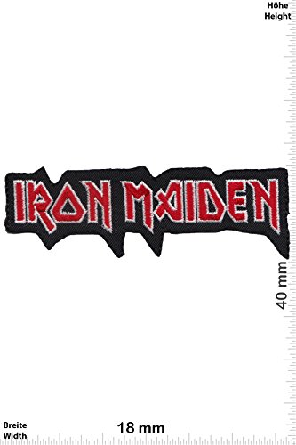 Parches   Iron Maiden   Silver Red   Música  Iron