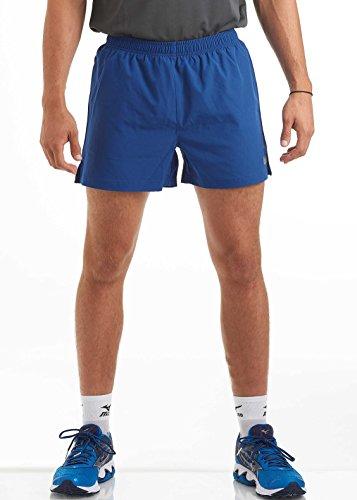 Herren Training/Fitness/Laufen/Shorts - Ideal für die Turnhalle, Track & Workout - Strapazierfähige & schnell trocknende Performance-Sport-Trainingsshorts von Time to RunTiefblau XXL