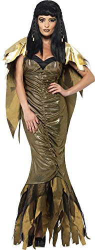 Cleopatra Kostüm, Kleid mit Umhang, Größe: L, 40095 (Cleopatra Kostüm Schuhe)