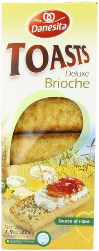 Danesita Delux Toasts Brioche (Pack of 4) Test