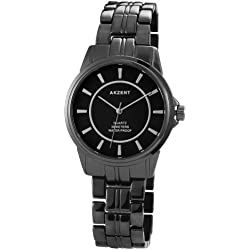 Akzent Unisex-Armbanduhr Analog Quarz verschiedene Materialien SS7471000040
