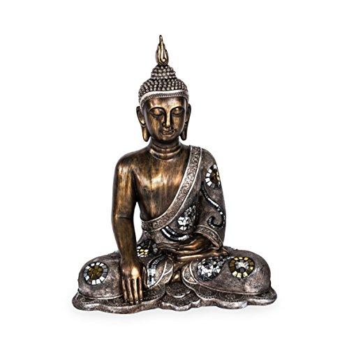 Pajoma 15048 Deko Buddha Mara, L 48 x B 29 x H 62 cm