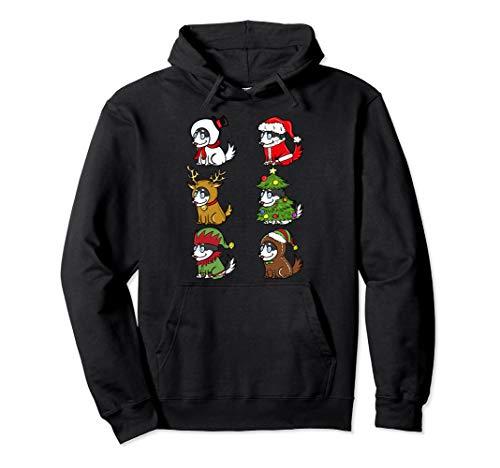 Siberian Husky Kostüm - Husky Xmas Kostüme Lustiger Hund Weihnachten