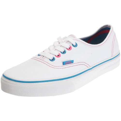 Vans T Authentic, Baskets mode mixte bébé Blanc (White)