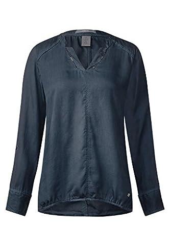 CECIL Damen Individuelle Tunika Bluse deep blue XL