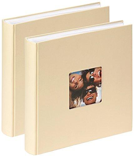 Walther Fun - Album per foto Confezione da 2, 30 x 30 cm Crema