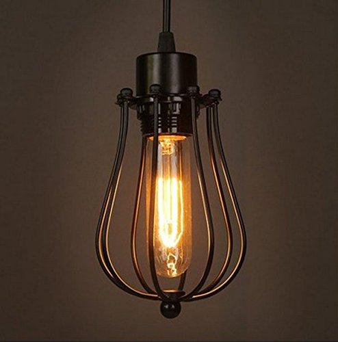 Modern-Vintage-Industrial-Metal-Cage-Loft-Pendant-Lamp-Ceiling-Light-Shade-Retro-Pendant-Light-E27-Socket-1-Light-