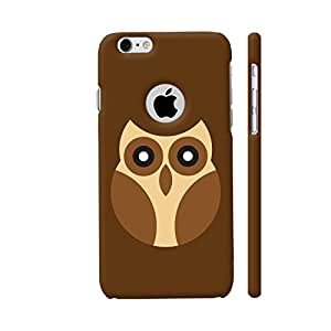 Colorpur iPhone 6 / 6s Logo Cut Cover - Brown Owl Printed Back Case