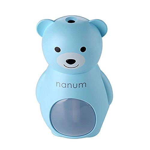 Preisvergleich Produktbild Sedeta® Blau nanum kreativer Bär Luftbefeuchter Air Diffuser Purifier Fresheners für Mädchen Frau Auto Büro nach Hause Schlafzimmer Reise