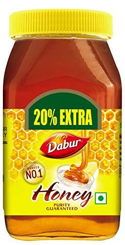 Dabur 100% Pure Honey, 600g (500g +100g Free)