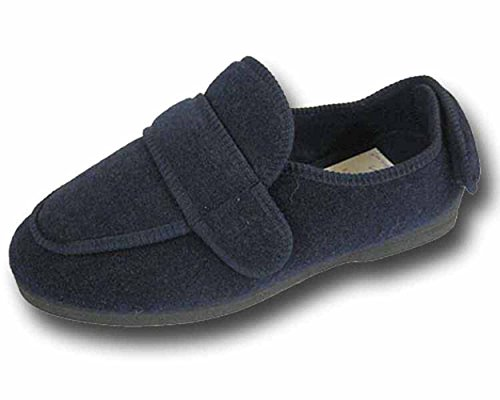 S & B Shoe , Herren Hausschuhe NAVY----BW25