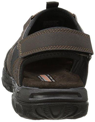Skechers  GanderLiveoak, Sandales pour homme Marron - Braun (CHOC)