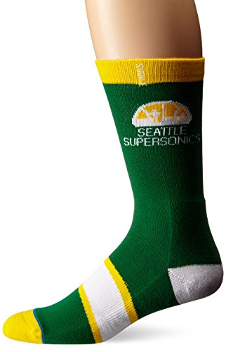 Stance Seattle SuperSonics Hardwood Classics Logo NBA Socken Grün L (Classic Schuhe Nba)