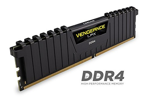 Best Saving for Corsair CMK64GX4M4A2666C16 Vengeance LPX 64 GB (4×16 GB) DDR4 2666 MHz C16 XMP 2.0 High Performance Desktop Memory Kit – Black on Amazon