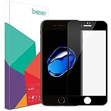 ICHECKEY 2 pièces iPhone6/6s protection écran de couverture complète en verre trempé film de protecteur écran tactile 2 options de couleur (noir)