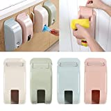 #7: Sevia Wall Mount Recycle Bag Storage Holder Dispenser Recycle Bin Grocery Bag Dispenser Size: 14 x 10 x 30cm (Random Color)