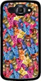 MOBILINNOV Huawei Ascend Y540 Haribo Chat en Folie Silikon Hülle Handyhülle Schutzhülle - Zubehor Etui Smartphone Huawei Ascend Y540 Accessoires