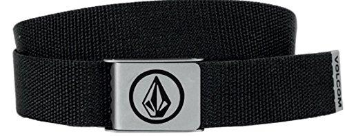 Volcom Circle Web Belt, Man, Black, One Size