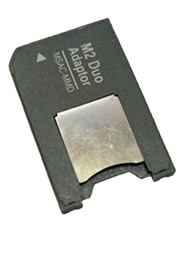 SahiBUY M2 (Memory Stick Micro) To Pro Duo Mobile Memory Card Adapter compatible for Sony (Msac-Mmd, Bulk Pack)