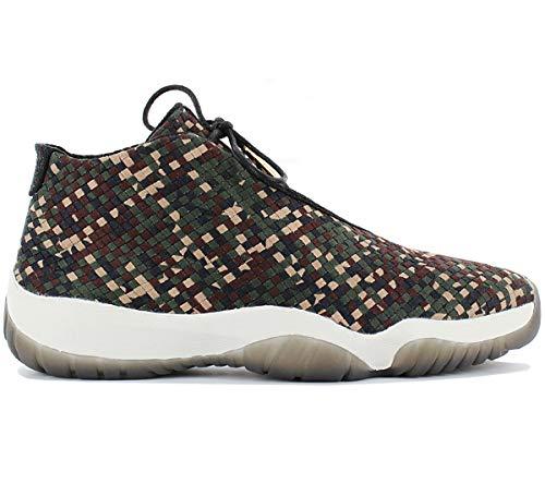 NIKE - Air Jordan Future Premium Camo - 652141301 - Farbe: Beige-Braun-Grün - Größe: 42.5 -