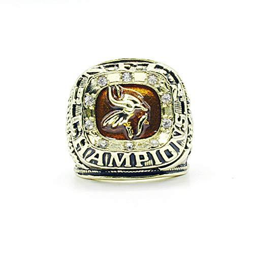 WEII Ringe Sport Fans Sammlung Ring Herren Hoch Qualität Legierung Ring Champion Ring Mode Dekoration/Wie gezeigt / 11ºÅ - Minnesota Sport