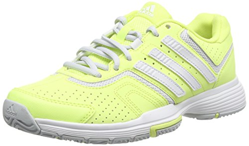 adidas Barricade Court W, Damen Tennisschuhe, Gelb (Froyel/Ftwwh), 36 2/3 EU (4 Damen UK)