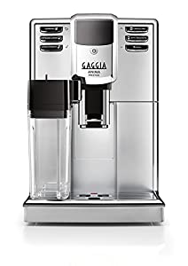 Gaggia RI8762/18 Anima Prestige Coffee Machine, 1850 W, 15 Bar, Silver
