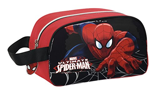 Marvel Spider-Man – Neceser con asa adaptable a carro (Safta 811412248)
