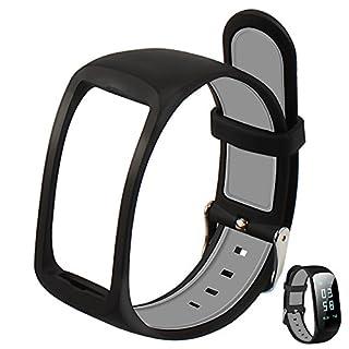 Armband Fitness, Cardio abandship Activity Tracker Schrittzähler Herzfrequenzmesser Uhr Fitness Tracker Watch Band Smartwatch für iPhone Samsung Android IOS Smartphone